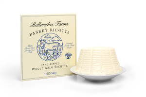 Bellwether Farms Whole Milk Basket Ricotta Cheese